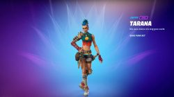 tarana fortnite skin season 6