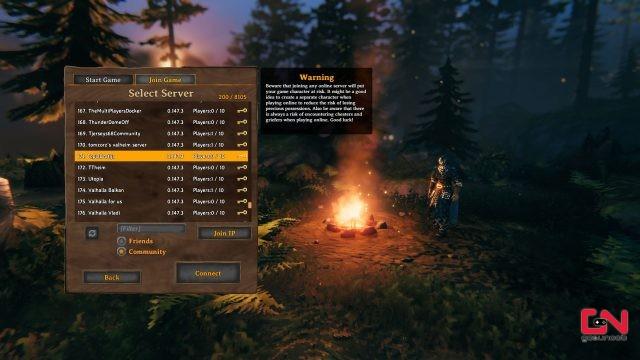 valheim join friends server & game