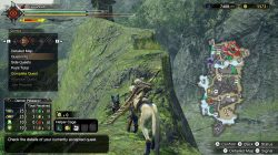 where to find rock lizard location monster hunter rise