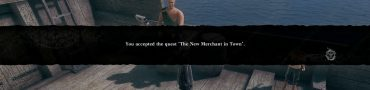 Nier Replicant Natural Rubber Goat Hide New Merchant in Town