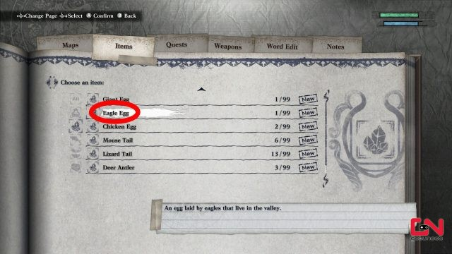 eagle eggs location on the wings of eagles nier replicant