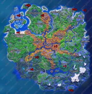 fortnite talk to the joneses locations