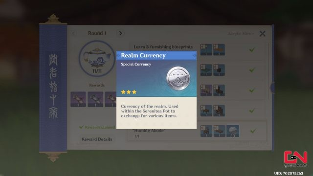 how to get realm currency genshin impact
