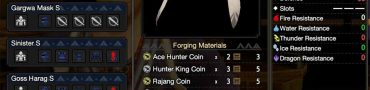 mighty bow feather mh rise barioth rajang hunter king ace hunter coins
