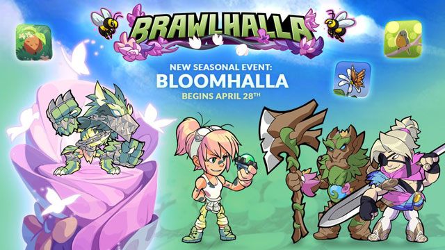 new brawlhalla event bloomhalla april 28th