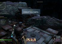 outriders secret side quest forgotten chapel legendary chest & stone pillar locations