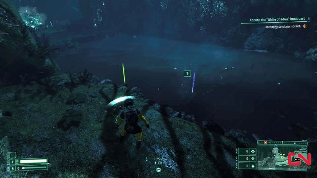 returnal how to swim get items in water