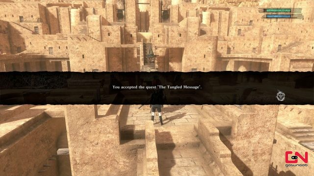 the tangled message in nier replicant
