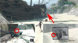 where to find nier replicant scattered cargo