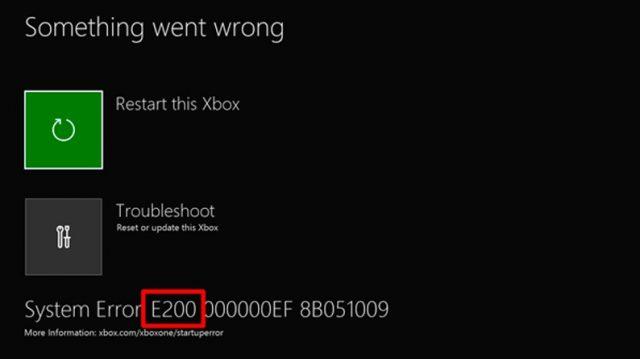 xbox system error e208