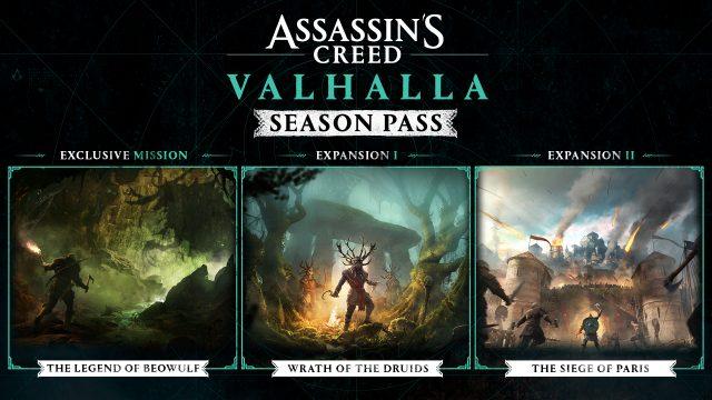 AC Valhalla Season Pass Content