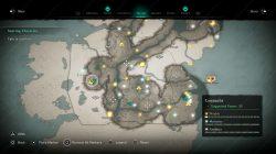 Celtic Armor torso location map