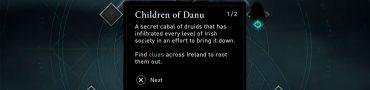 Children of Danu Order Bloody Amber Gae Bolg Mythical Spear Location