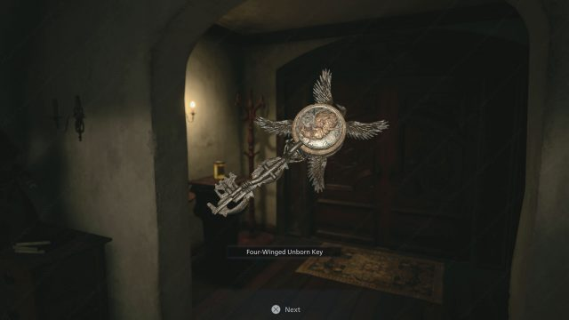 Four Winged Unborn Key Resident Evil Village