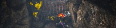 biomutant destroy metal wall to third moth nest in the outpost