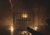 hanging torch & coffin puzzle resident evil 8 village