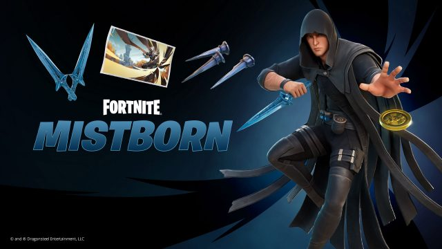 mistborn fortnite crossover kelsier outfit bundle available in store