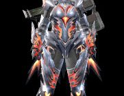 monster hunter rise crimson valtrax female armor