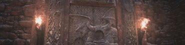 open dimitrescu castle gate maiden & demon crest location resident evil 8 village