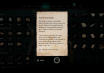 potion of strength ac valhalla treasure hoard map wrath of the druids