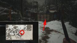 where to find workshop lock code resident evil village