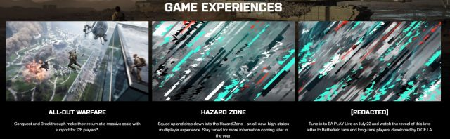 Battlefield 2042 Battlehub Details Leaked