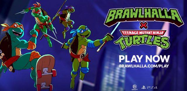 Brawlhalla & Teenage Mutant Ninja Turtles Crossover
