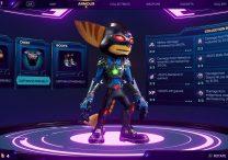 Captain Starshield Armor Set Ratchet & Clank Rift Apart