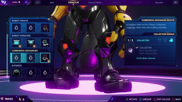 Carbonox Advanced Boots - Ratchet & Clank Rift Apart