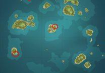 Character Chats Locations - Genshin Impact Diluc, Albedo, Razor, Kaeya