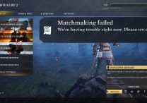 Chivalry 2 Matchmaking Failed Error Possible Fix