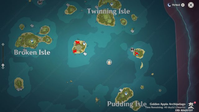 Echoing Conches Day 2 Locations