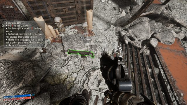Equip Weapons In Necromunda Hired Gun