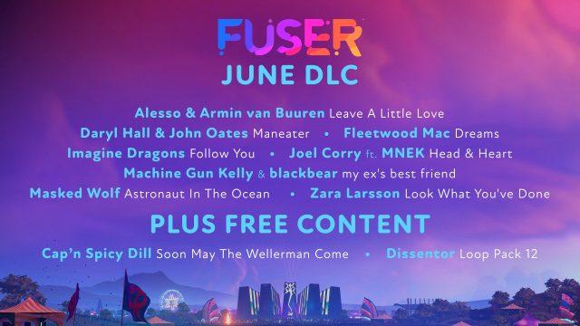 Fuser - New Tracks For June DLC