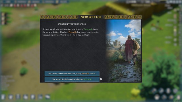 Gain More Settlers in Going Medieval Through Game Events