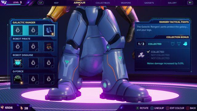 Galactic Ranger Boots - Ratchet & Clank Rift Apart