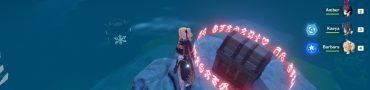 Genshin Impact Minacious Isle Fire Totem Puzzle Solution