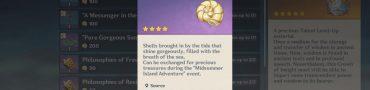 Genshin Impact Shells - Shiny Flotsam Main Cannon, Make Ready Fire Challenge