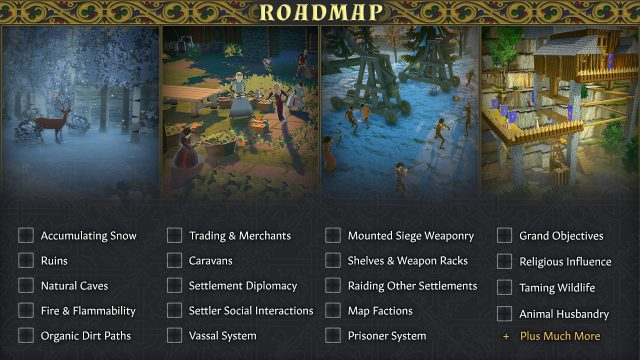 Going Medieval Roadmap