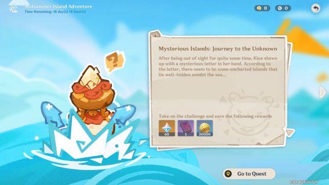 Golden Apple Archipelago Genshin Impact - Mysterious Islands