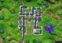 Place Welcome Signs In Pleasant Park and Lazy Lake Fortnite