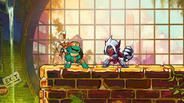 Play As Teenage Mutant Ninja Turtles In Brawlhalla