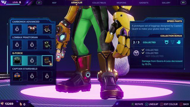 Q-Force Boots - Ratchet & Clank Rift Apart