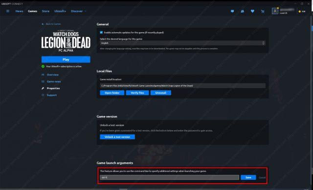 Watch Dogs Legion of the Dead force DirectX 11