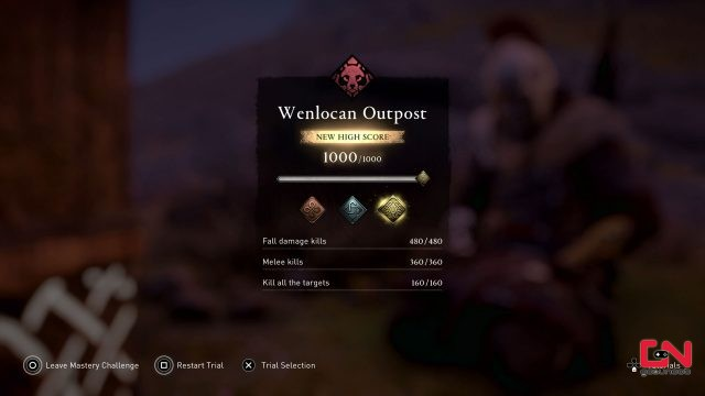 ac valhalla get melee kills in wenlocan outpost bear trial mastery challenge