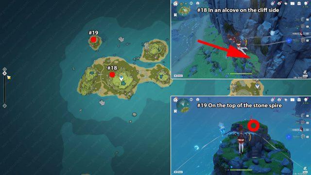 broken isle day 2 genshin impact act 2 echoing conch locations
