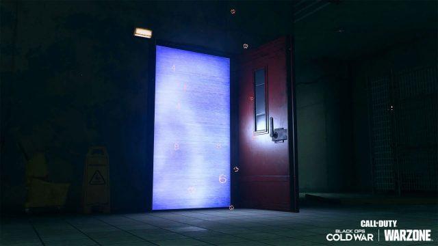 cod warzone red doors