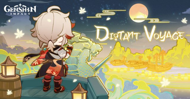 distant voyage genshin impact kazuha web event
