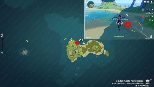 echoing conch chapter vi locations familiar voices genshin impact