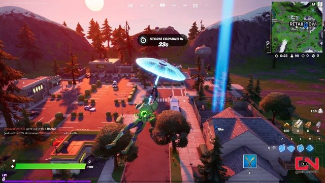 fortnite rubber ducks in retail row pleasant park and believer beach